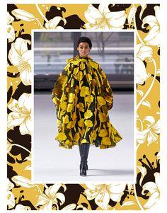 Autumn/Winter Print Trend - Monochrome Blow Ups - Patternbank Panda Design, Monochrome Pattern, Fashion Forecasting, Petite Fashion, French Fashion, 90s Fashion, Korean Fashion, Fashion Tips For Women, Summer Fashion Trends
