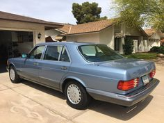 Bid for the chance to own a No Reserve: One-Family Owned 1987 Mercedes-Benz at auction with Bring a Trailer, the home of the best vintage and classic cars online. Mercedes W126, Mercedes Benz Cars, Chevrolet Tahoe, Chevrolet Chevelle, Volkswagen 181, Benz E, Classic Mercedes, Cars Birthday Parties, Classic Cars Online
