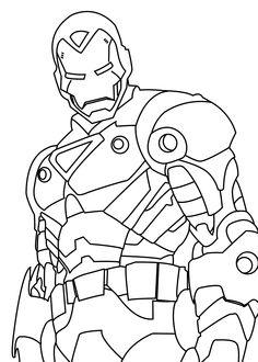 iron man coloring pages | ironman mark06 iron man coloring book ... - Coloring Pages Superheroes Ironman