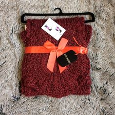 Steve Madden Woolen Scarf and hat set Scarf and hat set.  If you don't like the price, feel free to make me an offer. Steve Madden Accessories Scarves & Wraps
