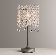 Coco Crystal Table Lamp