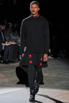 Just Got the Red collar with black star embroidered shirt.