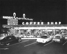 Coffee Shop #googie #architecture http://weheartit.com/KristineV