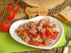 Ton Balıklı Yaz Salatası Resimli Tarifi - Yemek Tarifleri