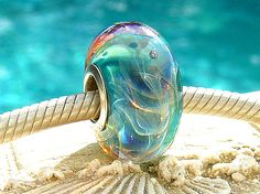 AZURE RIPCURL OPAL Fully Lined Sterling Silver by beachlifebeads, $23.00