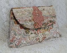 Asian / Oriental Inspired Gypsy Fringe Purse by Pursuation