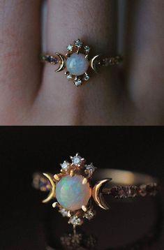 Cute Jewelry, Bridal Jewelry, Jewelry Rings, Jewelery, Jewelry Accessories, Jewelry Ideas, Women Jewelry, Vintage Jewelry, Vintage Art
