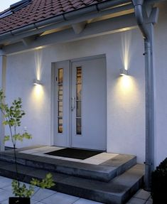 terrific exterior uplighting. exterior lights 25  Uniquely Awesome Garage Lighting Ideas to Inspire You