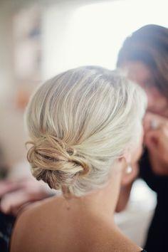 maid of honor hair