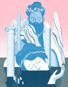 Illustrations for Wissen Magazine issue 9. || https://www.behance.net/gallery/26774037/Wissen-Magazine-Issue9