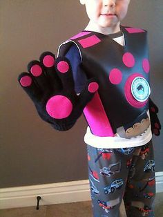 Wild Kratts Creature Power Suit Costume Pink Aviva | eBay