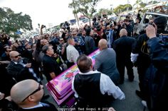 Lowrider Funeral For Jesse Valadez Impalas, Gypsy Rose, Chicano Art, Chevrolet Impala, Lowrider, Old Skool, Candy Colors, Funeral, Classic Cars