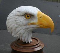 wood carved eagle heads - Bing Images