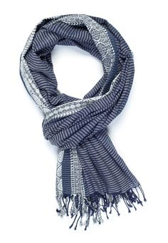 Content: 100% Cotton. Dimensions: 71 x 34  This incredibly soft cotton scarf used no energy to be brought into life - all of our products are