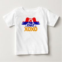 Armenian love 4 ever Baby Fine Jersey T-Shirt