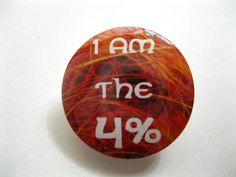 I am the 4 Ginger Pride Pinback Button or by bohemianapothecarium, $1.49