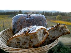 """Pan co' Santi Bread..... """"bread with saints"""".... from siena..... have your own tuscany at home..... :-)"""
