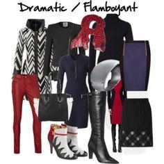 Kledingstijl: Dramatic / Flamboyant  iets te wild maar de kleuren passen me wel