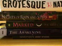 """""""Tumult"""" - Grotesque / Nights of rain and stars / Marked / The awakening / Transformations #butlerbookspine"""
