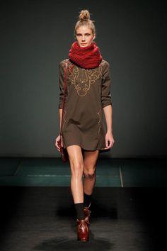 YERSE fall-winter 2013-2014 080 Barcelona Fashion #moda #tendencias #pasarela #fashiontrends #fashionshow #Yerse
