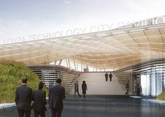 Konza Techno City masterplan by SHoP Architects