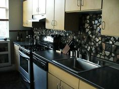 You can have a unique kitchen backsplash and you can do it yourself. Description from homemakeoverdiva.com. I searched for this on bing.com/images