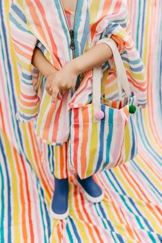 Loose cottons and cool accessories, Noe & Zoe spring 2018 kids fashion