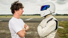 Behind the scenes at this week's Top Gear - BBC Top Gear - Sherlock vs The Stig
