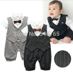 Cheap Vests, Buy Directly from China Suppliers:Size & DescriptionItem:Baby Boy Formal Tuxedo Bodysuit with Stripes Pattern (Grey or Black colour)Material:&nb