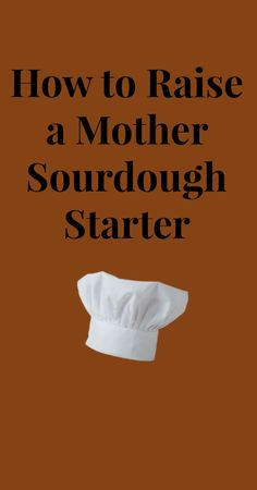Directions for a sourdough starter that will be easy to maintain and take care of from the refrigerator.