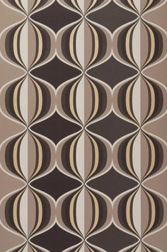 Live life by your own design! Fabulous Retro Wallpaper, stunning Designer Wallcoverings, fantastic Vintage Wallpaper - the ultimate in style in our. Funky Wallpaper, Pattern Wallpaper, Vintage Textiles, Vintage Patterns, Retro Pattern, Carpet Design, Graphic Patterns, Textures Patterns, Geometric Shapes