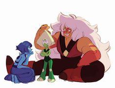 Reunite the homeworld gems Jasper Steven Universe, Sapphire Steven Universe, Lapidot, Steven Universe Pictures, Lapis And Peridot, Steven Univese, Fanart, Universe Art, Star Vs The Forces