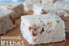 Coconut Mithai - My Heart Beets