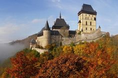 Private Half-Day Trip From Prague to Karlstejn Castle Enjoy a private half-day tour trip to one of the most visited castles in the Czech Republic. Karlstejn Castle was built by Emperor Charles IV to protect the crown jewels. Let our professional private guide show you the magnificent Chapel of Holy Cross in the Great Tower with its unique collection of 129 portraits of the Saints painted by Master Theodoric. Discover the beauty of this fairy tale castle from the 14th century.F...