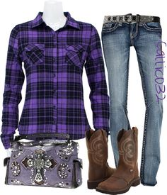 """""""Country girl #2"""" by callico32 on Polyvore"""