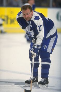 Wendal Clark-Toronto Maple Leafs, came to my high school for a while, my claim to fame, lol