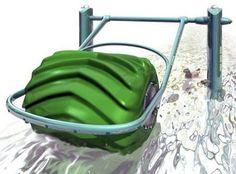 floating hydro electric barrel generator