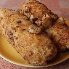 Roladki schabowe z pieczarkami French Toast, Meat, Chicken, Breakfast, Recipes, Food, Morning Coffee, Recipies, Essen
