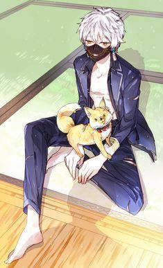 【刀剣乱舞】深夜の鳴狐画像まとめ Part.2 : 刀剣乱舞速報 - とうらぶまとめ Manga Art, Manga Anime, Anime Art, Touken Ranbu Characters, Anime Characters, Hot Anime Boy, Anime Guys, Touken Ranbu Nakigitsune, Mutsunokami Yoshiyuki