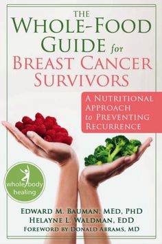 Dr. Sara Gottfried recommends Helayne L Waldman EDD's book The Whole Food Guide for Breast Cancer Survivors.