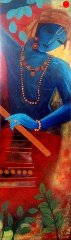 Krishna by Shikha Agnihotri Pandey