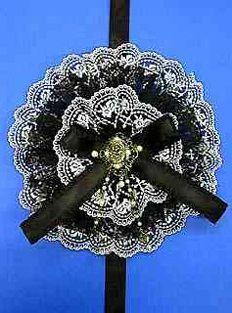 Moi-même-Moitié Antique Rose Head Dress