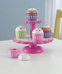 Take a look at this KidKraft Cupcake Set by Perfect Presents: Apparel, Toys & Shoes on #zulily today!
