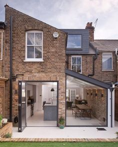 10 beautiful and achievable kitchen extension ideas   Fifi McGee   Interiors + Renovation Blog House Extension Plans, House Extension Design, Glass Extension, Extension Designs, Rear Extension, Extension Ideas, Side Return Extension, Victorian Terrace House, Victorian Homes