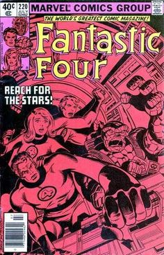 Fantastic Four #220 - ... And The Lights Went Out All Over The World!