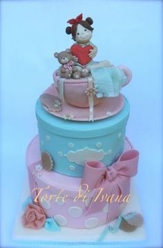 GIRL IN THE CUP By IVANA1976 on CakeCentral.com