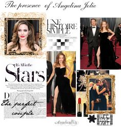 """The presence of Angelina Jolie"" by angelicallxx ❤ liked on Polyvore"
