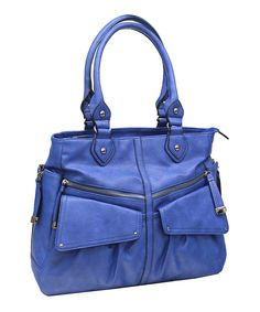 8e778d9937 Jessica Simpson Collection Blue Lindsey Tote