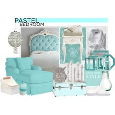 """""""A Sweet Pastel Bedroom"""" by tes-coll on Polyvore Pastel Bedroom, Apartment Therapy, Interior Design, Future, Sweet, Polyvore, Home, Decor, Style"""