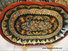 Mexican Folk Art to enjoy in Pátzcuaro, just check this lacquerware, is beautiful!